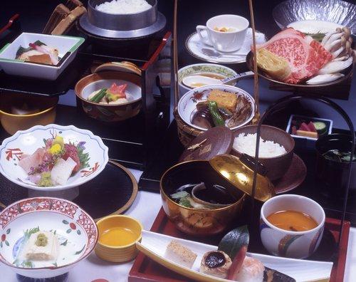 栃木県産牛と湯波料理 昼御膳「千の麗」