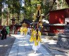 弥生祭-神輿舎から本社拝殿へ/撮影:玄梅様