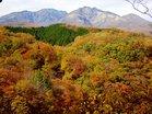 滝周辺の紅葉(女峰赤薙山)