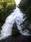 1増水の湯滝