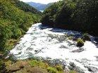3増水の龍頭の滝上