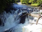 2増水の龍頭の滝口