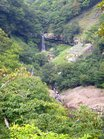 7水量増の般若の滝