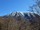 男体山2486m霧氷