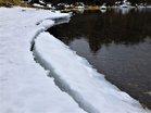 湯ノ湖畔残氷