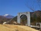 大日橋と男体山